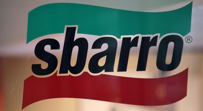 For The Second Time In 3 Years, Sbarro Files For Bankruptcy