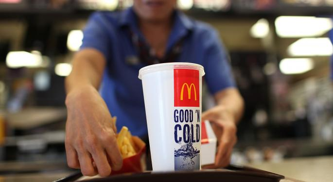 SunTrust Lovin' McDonald's, Says Investors Are Being 'Paid To Wait' For A Turnaround