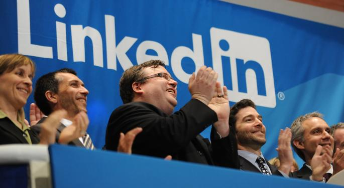 LinkedIn Rally Morphs From Short-Covering To Market-Leading In A Hurry