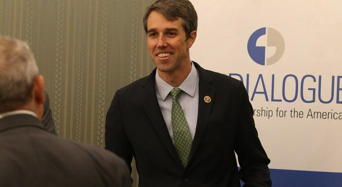 Beto O'Rourke Raises More Than $6M Online On Day One Of Campaign
