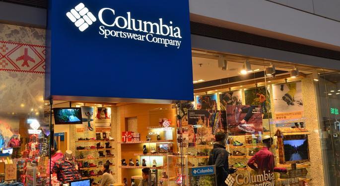 DA Davidson Heats Up On Columbia Sportswear As Temps Drop