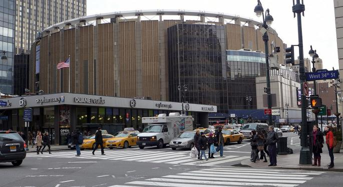 Madison Square Garden Trading At Discount To Intrinsic Value, Imperial Capital Says In Bullish Initiation