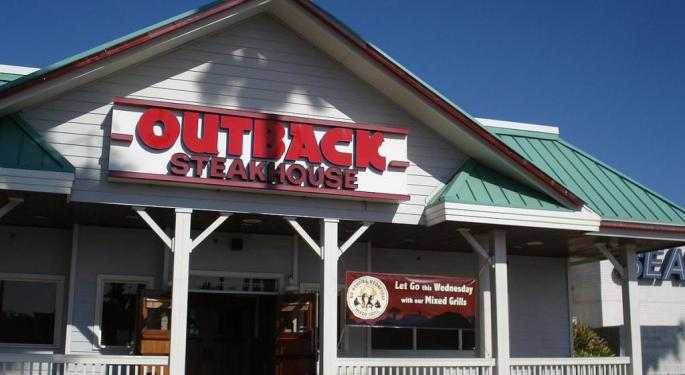 Bloomin Brands Performance Will Be Supported By Outback, Morgan Stanley Says