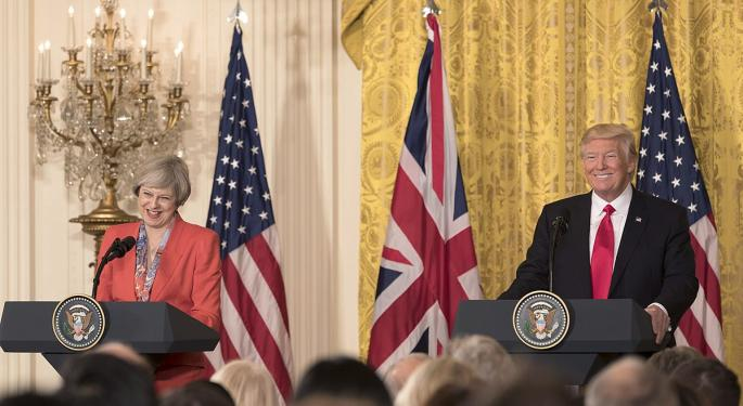British PM May Reiterates 'Special Relationship' With US