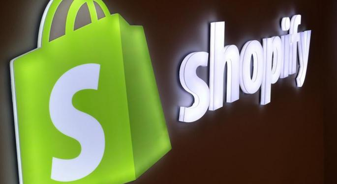 Shopify Trades Higher On Cramer M&A Talk