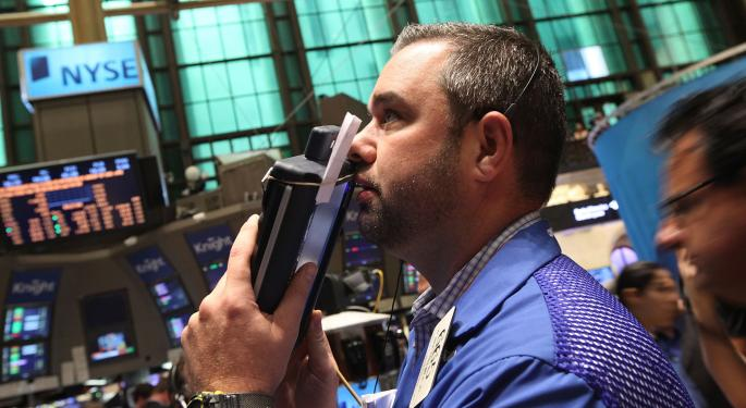 Mid-Day Market Update: Pep Boys Tumbles On Downbeat Results; Rambus Shares Jump