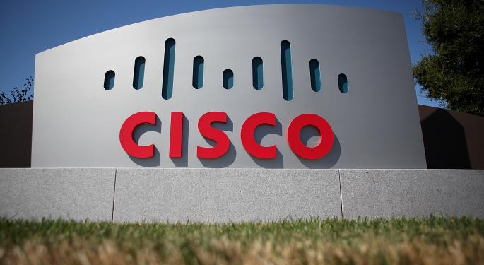 Cisco Systems, Inc. Shares Continue To Lag The Market
