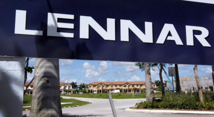 Lennar Corporation Explodes To The Upside Wednesday; Is There Still More To Come For The Bulls?