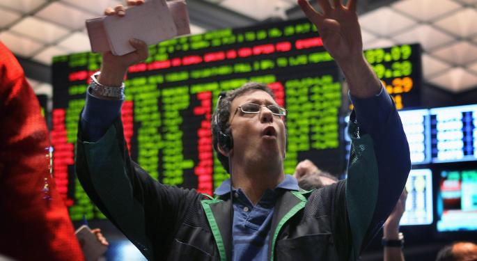 Mid-Morning Market Update: Markets Edge Higher; CalAmp Issues Downbeat Guidance