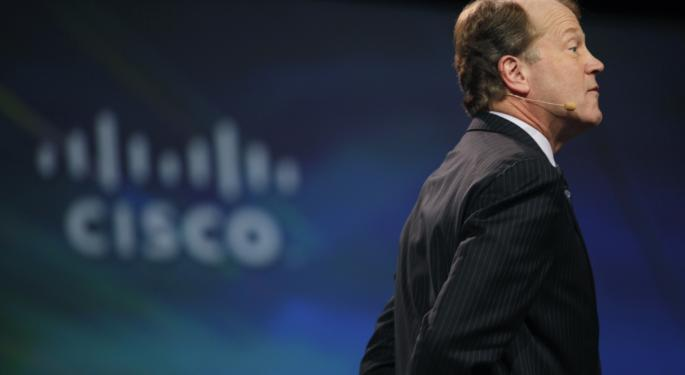 Cisco Shares Fall After Topping Q1 EPS Estimates