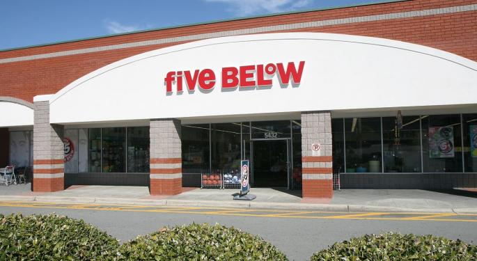 Five Below A 'Unique And Differentiated' Retail Winner, Says Bullish Morgan Stanley