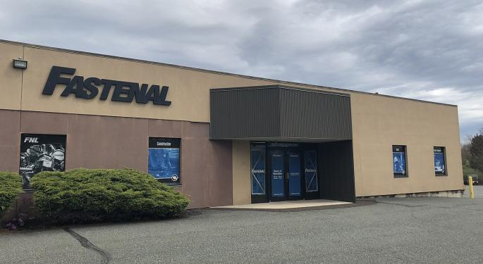 Fastenal Trades Higher On Q3 Earnings Beat