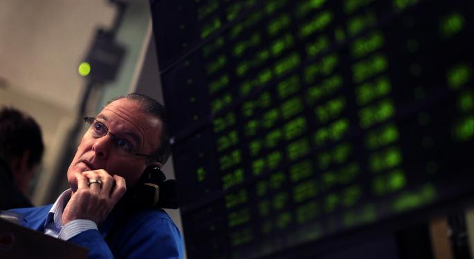 Mid-Afternoon Market Update: Markets Fall as 3D Systems Rallies on Deutsche Bank Initiation