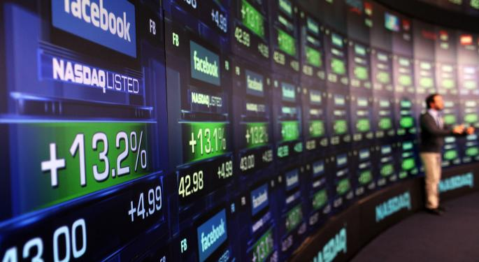 Mid-Morning Market Update: Markets Rise; Bank of America Posts Higher Profit