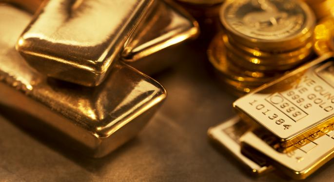 The SPDR Gold Trust Just Hit A 5-Month High