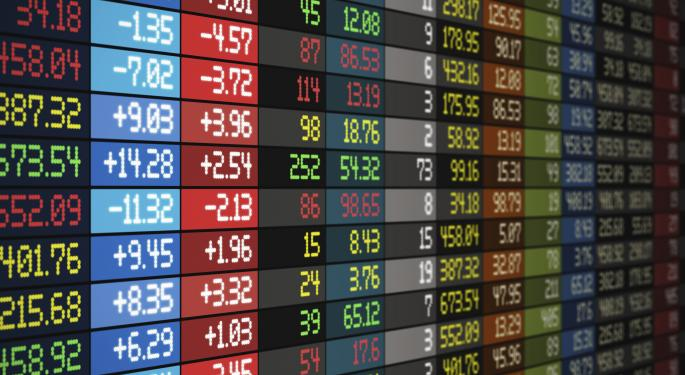 Mid-Day Market Update: Dow Edges Lower; Platinum Underwriters Shares Jump On Acquisition News