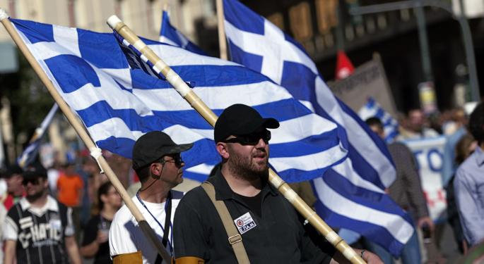 Credit Suisse: 5% Chance Of 'Complete Financial Collapse' In Greece