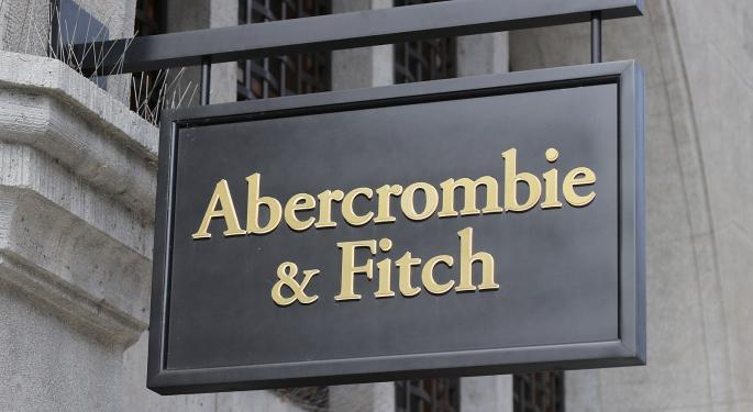 Abercrombie & Fitch In Free Fall After Q1 Print, Bull Analysts Nowhere To Be Seen