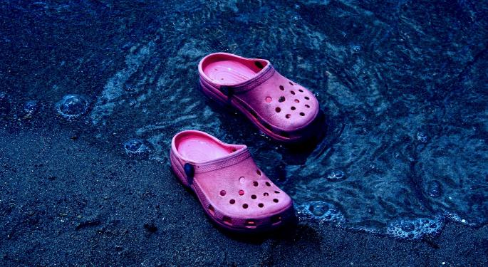 Crocs Could Pull Off 10-15% Earnings Upside, Baird Says In Upgrade