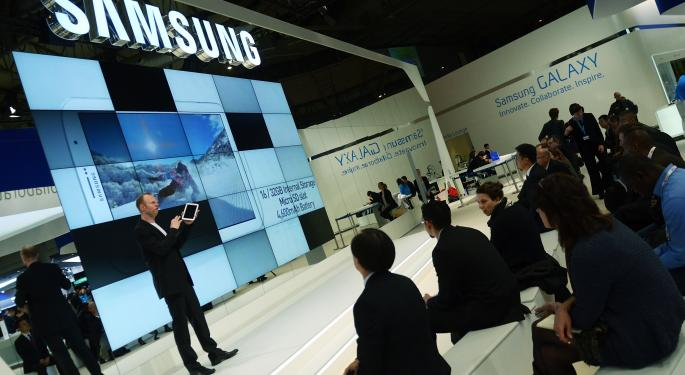 Samsung's Galaxy Gear To Take On Apple's iWatch AAPL, SSNLF