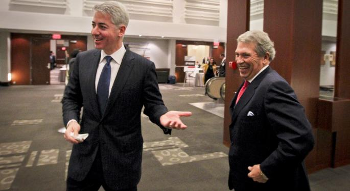 Bill Ackman Talks Partnership With Valeant For Allergan Deal