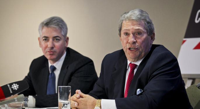 Bill Ackman Picks 4 New Stocks In 13F