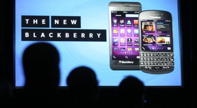 BlackBerry's A10 to Compete with Samsung's Galaxy Note III BBRY, SSNLF