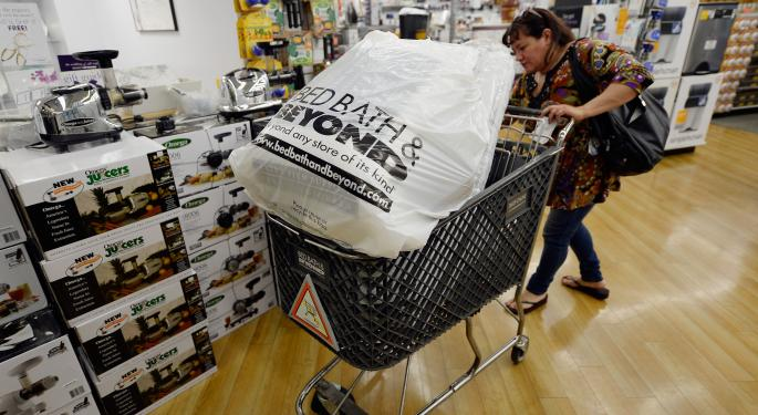 Bed Bath & Beyond Vaults Higher On Institutional Buying