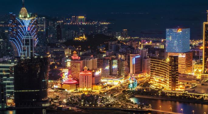 Macau Estimates Still Too High, Wells Fargo Sees 10% EPS Downside