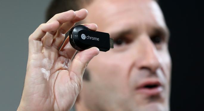 Google's Sold-Out Chromecast Soars to $100 on eBay GOOG, EBAY