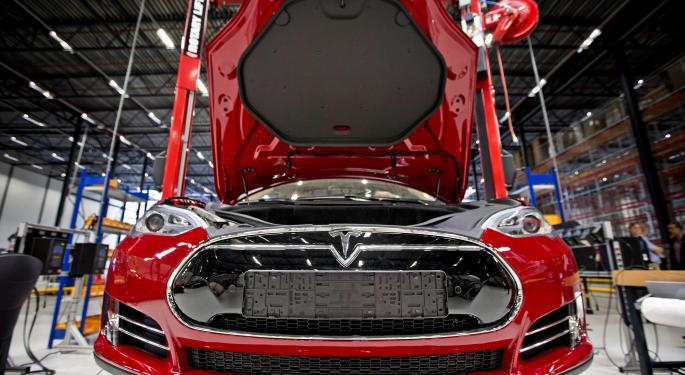 Tesla Permabull Adam Jonas Cuts Price Target By 26%