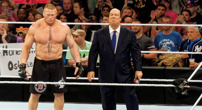 Brock Lesnar, WWE's Biggest Star, Is Returning To UFC For One Night