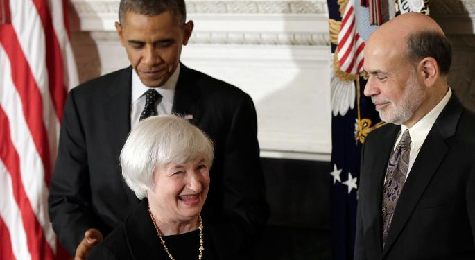 Benzinga Weekly Preview: Yellen To Take Her Place As New Fed Chief