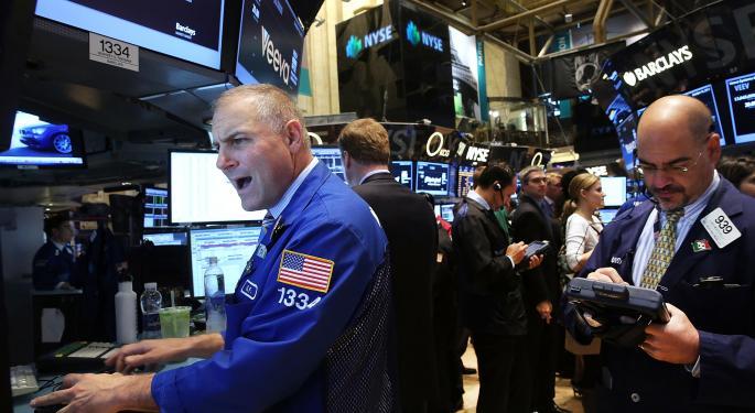 Mid-Morning Market Update: Markets Mixed; McDonald's Posts Higher Q3 Profit