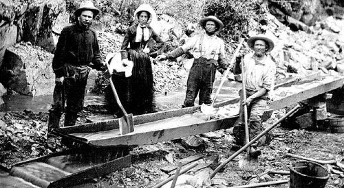 This Day In Market History: The California Gold Strike