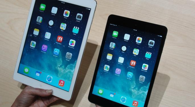 "iPad Mini's Retina Display Ranks Below Nexus 7, Kindle Fire HDX 8.9"" And iPad Air"