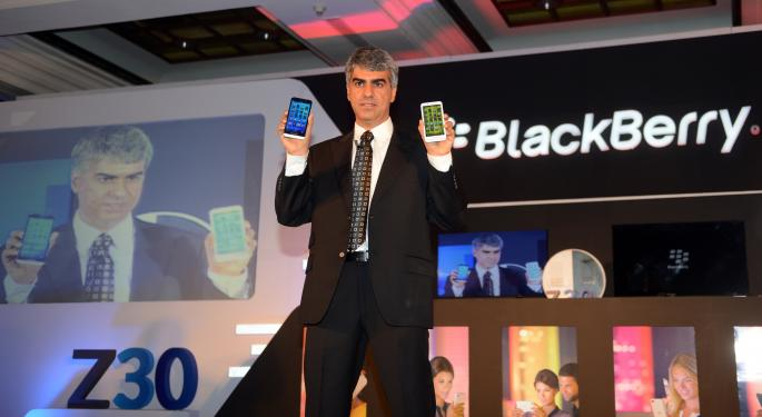BlackBerry To Rely On Android For Future Success