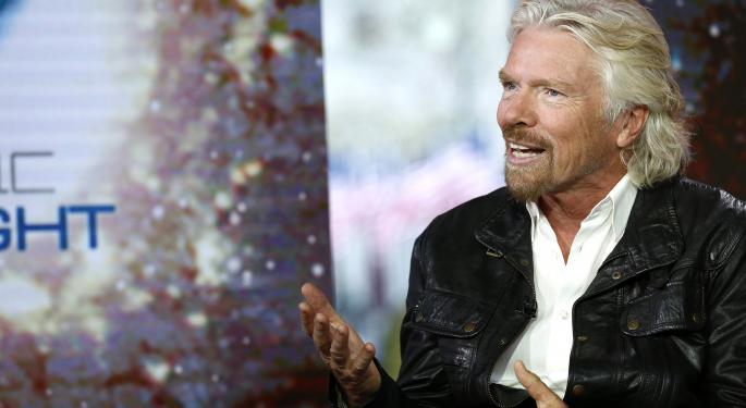 Richard Branson Has Virgin Galactic Accepting Bitcoins