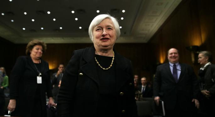 Worried Rates Are About to Jump? Not To Worry, Yellen Tells Senators