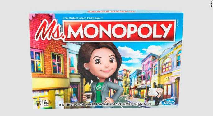 Hasbro Launches Ms. Monopoly, A New Board Game Where Women Start With More Money Than Men