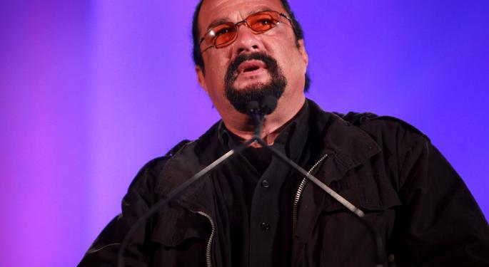 'Above The Law' Actor Steven Seagal Settles With SEC Over ICO Promotion
