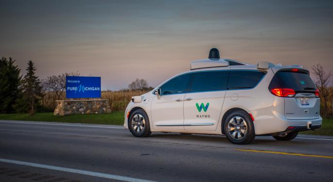 Waymo Looks To The Motor City For Autonomous Vehicle Plant