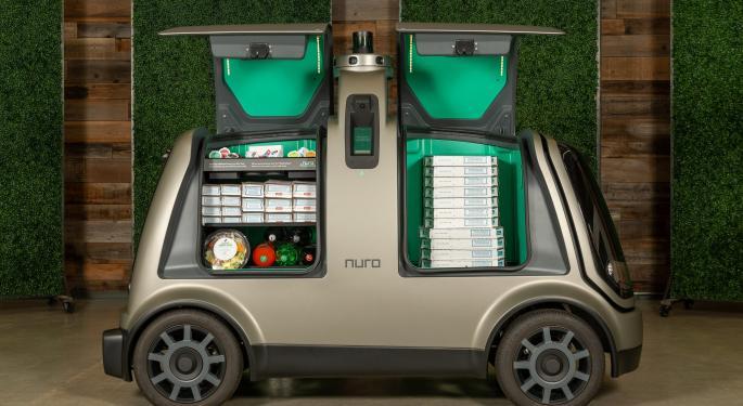 Domino's Pizza Is Testing Autonomous Delivery Vehicles
