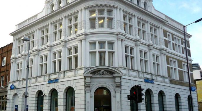 Barclays Bull: BofA Says British Bank Is Big Beneficiary From US Tax Reform