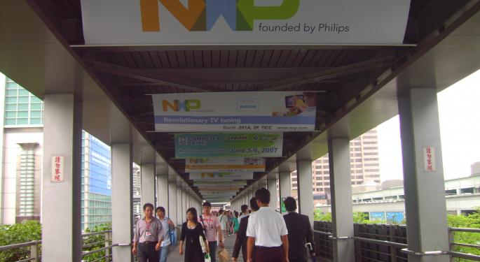 Street Speculates 2 Suitors Courting NXP Semiconductors