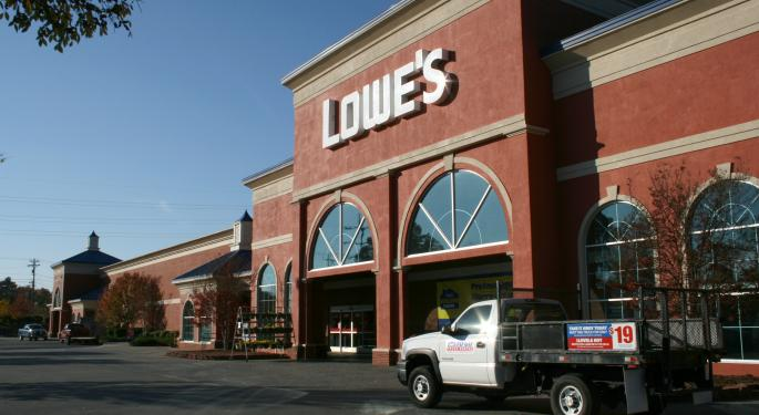Lowe's Dropped From Conviction Buy List On 'Upside, Visibility, And Positioning'