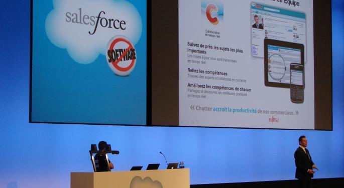 Wedbush Upgrades Salesforce.com, Cites Opportunity To 'Disrupt Software Categories'