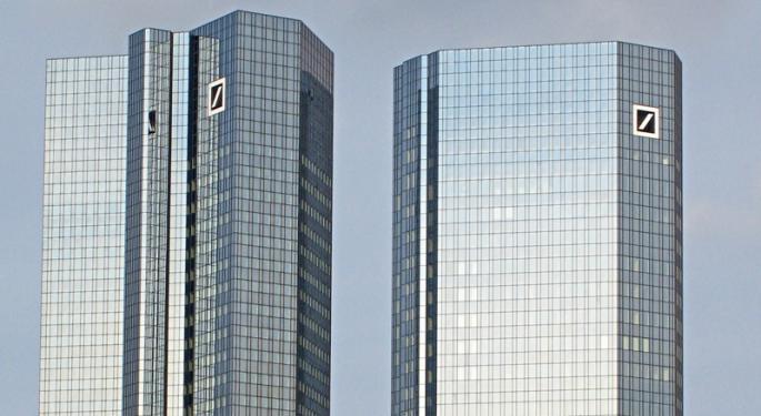 Deutsche Bank Is Having A Disastrous Year