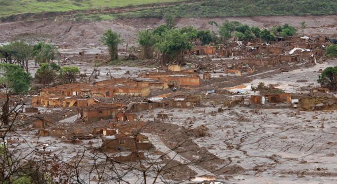 Vale's Stock Tanks As Dam Disaster Death Toll Rises
