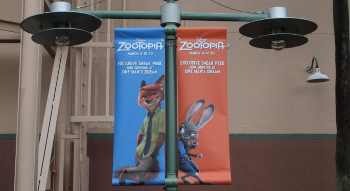 Disney's 'Zootopia' Could Be Biggest Animated Film Ever